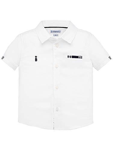 Mayoral, Camisa para bebé niño - 1157, Blanco