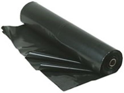 Berry Plastics Film-Gard Plastic Polyethylene Sheeting 4 Mil, Black, 3' x 50'