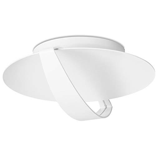 LEDs C4 15-2021-14-14 saturn 1xled 18w Plafonnier led sharp Blanc Mat