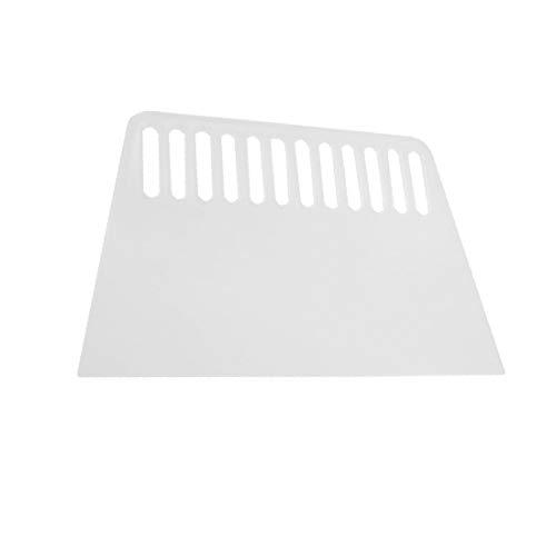X-Dr Durchsichtiger weißer Kunststoff-Lochlack-Schaber-Cutter 6,5' 'Länge (050bc0612d6fda673c3f6b92cd7a34e4)