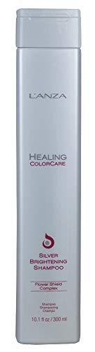 L'ANZA 40610C Healing ColorCare Silver Brightening Shampoo