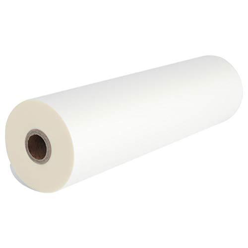 TOYANDONA 1 Rollo de Papel de Calco de 12 Pulgadas Papel de Calco Transparente Multifuncional para La Oficina de La Escuela