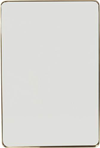 Kare Design Miroir Curve rectangulaire Laiton 120x80cm