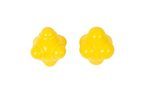 ZAKSKI Dual Level Reaction Ball Training Set (Yellow)