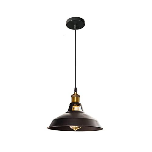 HSHHJSH Luz Colgante Industrial, Colorido Estilo Retro Restaurante Cocina lámpara casera luz lámparas Decorativas luz for Sala de Estar Comedor Cocina (Body Color : 2)