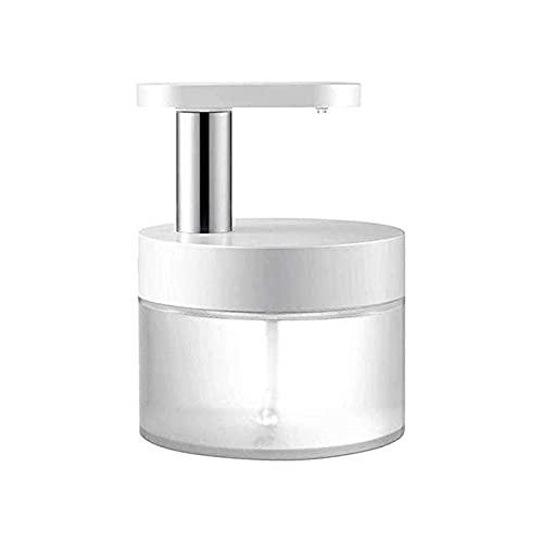 XIXIDIAN Dispensador de jabón, dispensador de jabón de Espuma sin Contacto automático, dispensador de desinfectante automático Recargable de 400 ml