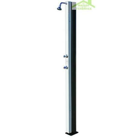 Crm-Ducha solar blanco-Grifo con accesorios, 30 L