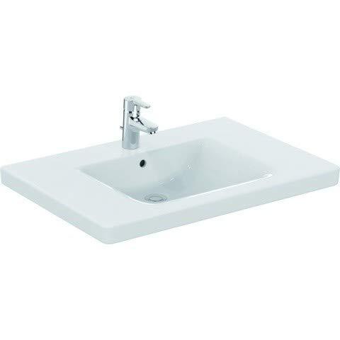 Ideal Standard Waschtisch Connect Freedom, unterfahrbar, 800x555x165mm,Weiß mit IP, E5484MA
