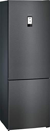 Siemens KG49NAXDP iQ500 - Frigorífico con congelador independiente (D, 207 kWh/año, 438 l, hyperFresh plus, noFrost, iluminación interior LED, touchControl