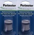 Perimeter Technologies Two-Pack Dog Fence Batteries for Invisible Fence Brand Receiver Collars (2-Pack)