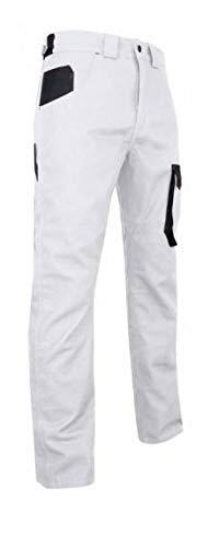 LMA Pantalon Peintre Bicolore Multipoches Facade