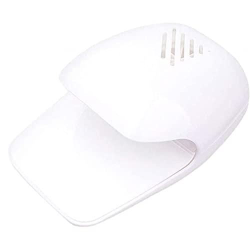 AtheMeet Mini secador del Clavo Ventilador portátil Secado de uñas de Arte Polaco del Gel Enfriador Blow máquina Blanca