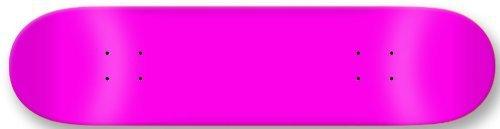 Moose Blank Skateboard Deck 7.75' NEON Pink Skateboards