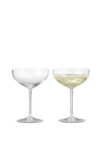 Rosendahl Copenhagen haute verre à champagne en kit, Lot de 2