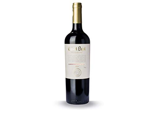 Castel Pujol- Vino Tinto Cabernet Franc Reserva - Bodegas Carrau - Producto Uruguayo- 75 Cl
