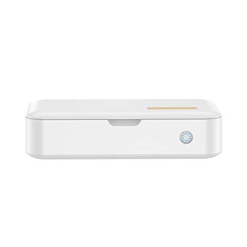 Wensistar Multifunctionele desinfectiebox met uv-ontkieming draagbare kleine sterilisator voor mobiele telefoons, make-upkwasten, accessoires, servies, glazen