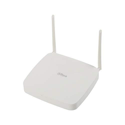 Dahua - NVR 8 Canales IP WiFi Dahua 4K 8 MP 80Mbps H.265 - NVR2108-W-4KS2