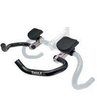Tranz-X TRIATHLON HANDLEBAR ROAD TRI CLIP-ON ! by Tranz-X
