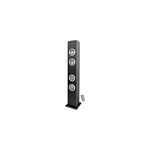 INOVALLEY HP47-BTH Bluetooth Sound Tower - Schwarz