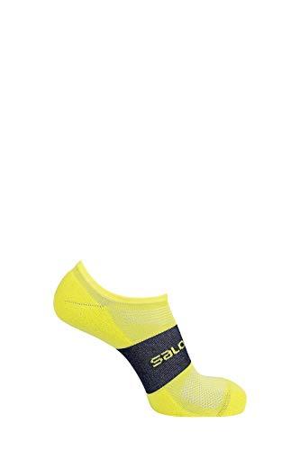 SALOMON Socks Sonic 2 Pack Shell Jacket, Unisex adulto, Chaqueta entallada, LC1344300, Dalia Roja/Citronelle, medium