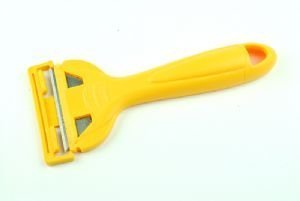 Linic UK Made Window Scraper Removes Paint from Windows YELLOW. (S7377) Free UK Postage