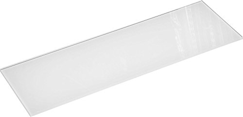 ib style Glasboden | 8mm |60x30 |Weiß