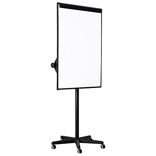 Amazon Basics Mobile Whiteboard, Dry Erase Board and Easel Stand, 73 x 26 x 32 Inches