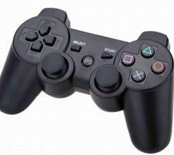 GSH DualShock Wireless Controller for PlayStation 3 | Professional PS3 Wireless Gamepad for PlayStation 3/ PS3 Slim / PS3 Super Slim/PS3 Fat by - Ghost Black Limited Edition ( Only Ps3 Compitible , charging cable not included )