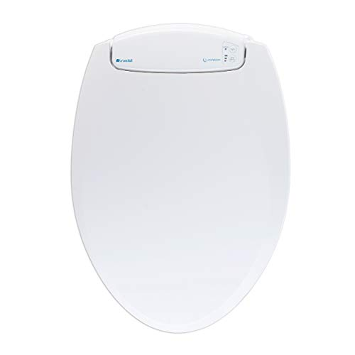Brondell LumaWarm Heated Nightlight Toilet Seat – Fits Elongated Toilets, White