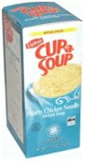 Lipton Hearty Chicken Noodle Cup-A-Soup 22 Count Family/Office Pack