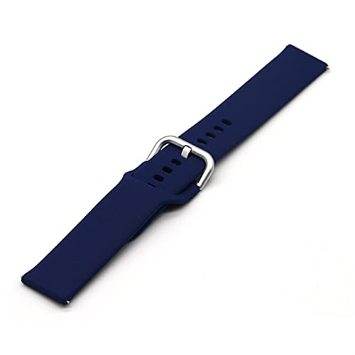 LLKHFA Correa de silicona de 22 mm y 20 mm para Samsung Galaxy Watch Active 2 40/44 mm Gear S2 Huami Amazfit bip Sports Wristband Huawei (Color de la correa: S13, tamaño: 22 mm)