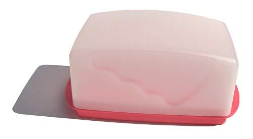 Tupperware 1-lb Impressions Butter Dish Guava Pink