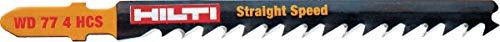 Hilti Hoja sierra calar WD 77 4 HCS (25), 25 Piezas, 2122260