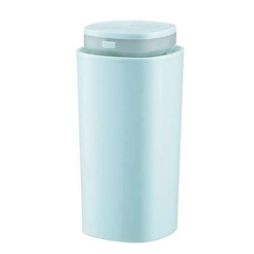 Yuqianjin Humidificador de Vapor frío ultrasónico - humidificador, Easy Clean, for el Dormitorio Oficina for 320ml (Color : Blue)
