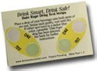 DrinkSafe Date Rape Drug Test Strips - 2 Tests / 1 card, detect ghb and ketamine