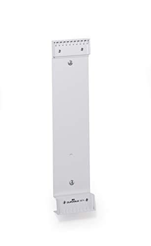 Durable 567410 Sichttafelwandhalter Function Wall module 10, für 10 Sichttafeln (nicht enthalten), grau