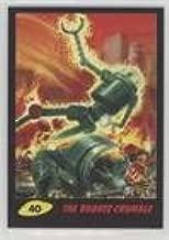 The Robots Crumble #16/55 (Trading Card) 2017 Topps Mars Attacks: The Revenge - [Base] - Black #40
