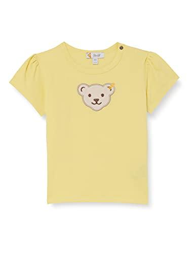 Steiff Baby-Mädchen T-Shirt, Yellow Cream, 080