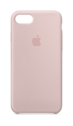 Apple MQGQ2ZM/A Silicone Case (for iPhone 8/ iPhone 7) - Pink Sand