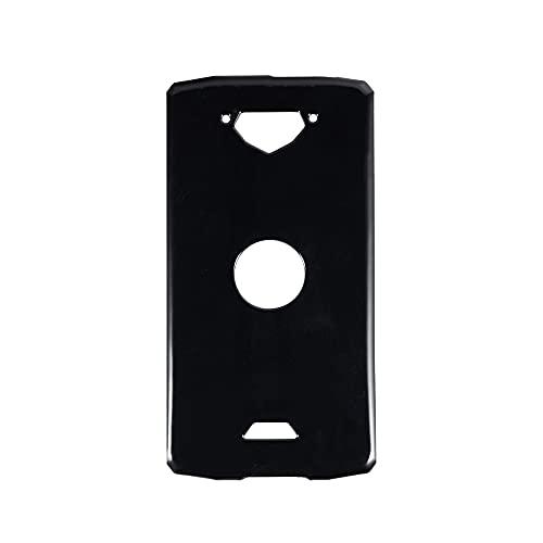 Crosscall Core X3, Coque arrière en TPU Souple, Anti-Chocs, Anti-Traces de Doigts, Coque de Protection intégrale pour Crosscall Action X3 (Noir)