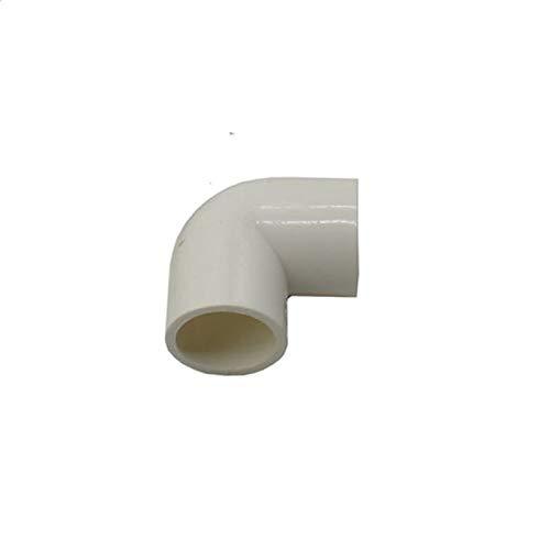 Connettori per Tubi Flessibili 5pcs DN15 DN20 DN25 in PVC Tubo di Acqua Gomito Ginocchio Connection 1/2 3/4 1' 90 Degrees Tubo Riparazione Hot Melt Adattatore Raccordi .per casa, Giardino, Parco