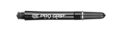 Target Pro Grip Spin Shafts Schwarz Medium, 3 Stück