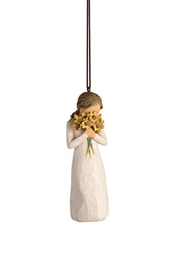 Willow Tree Warm Embrace Ornament, Sculpted Hand-Painted Figure