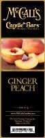 McCall's Country Candles Candle Bars Ginger Peach
