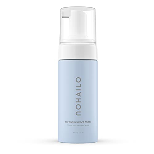 Nohailo Face Wash   Hydrating Facial Cleanser   Revolutionary Face Cleanser for All Types of Skin   Foaming Face Wash Enriched with Flower Extract and Glycerin   Vegan and Natural Foam Cleanser