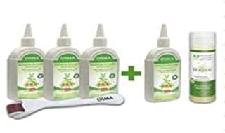 BIOGROW INTENSIVE PLUS_(4 bottle of 200ml BIOGROW INTENSIVE Plus + 1 bottle of 200ml BIOGROW PINE Shampoo + 1 Scalp Rolle...