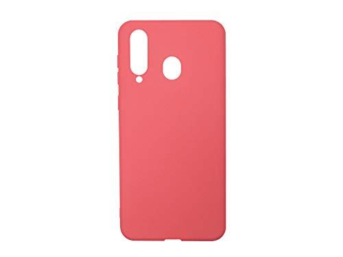 Hülle für Samsung Galaxy A8s - Hülle Soft Flex - Rot Handyhülle Schutzhülle Etui Hülle Cover Tasche für Handy