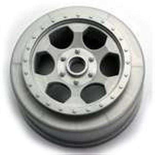 DE Racing -SCT-LFS Trinidad SC Wheels Fits Losi XXX-Sct Front Silber by DE Racing