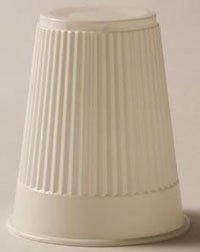 8957444 Outstanding PT# Cheap 9211 Cup 5oz White Disposable Plastic Embossed 1000