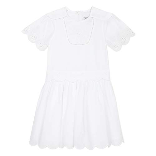 TARTINE ET CHOCOLAT Robe blanche pour fille - Blanc - 4 ans